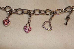 Swarovski Charm Bracelet- for sale!