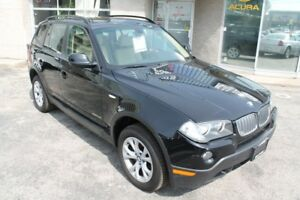 2010 BMW X3 Xdrive30i, Leather, Sunroof, Parktronic