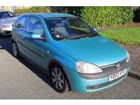 Vauxhall Corsa 2003 1.2 SXi 3d For Sale