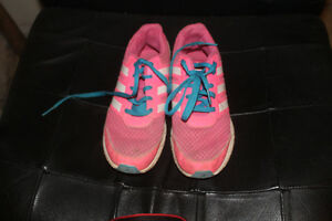 Size 4 youth Girls Adidas Shoes