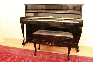 Beatiful Black Wesberg Acoustic Piano in good condition