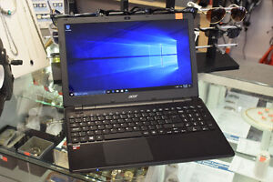 Acer 1.8GHz QuadCore 8GB Ram 500GB HDD Laptop + Charger