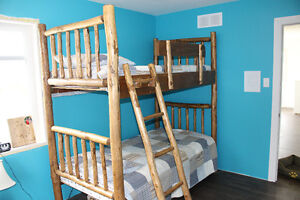 Beautiful Wooden Bunk Beds
