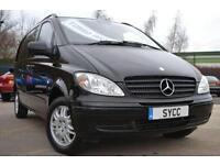 2010 Mercedes benz Vito 2.1 111CDI Dualiner Comfort Compact Panel Van 5dr 5 d...