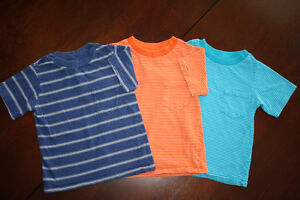 3 Cotton Striped T Shirts- 3T