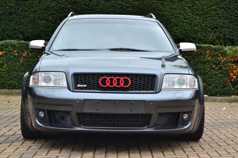 2004 04 Audi Rs6 Avant Estate Lhd 4 2 Quattro V8 450 Bhp