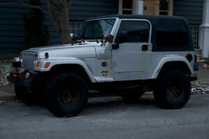 2003 Jeep TJ Rocky Mountain Dual Top with Extras