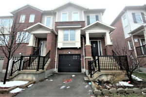 Spacious, open concept townhouse end unit for lease in Ancaster