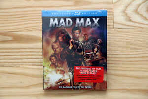 Blu-Rays: Mad Max (Collector's) *NEW*, Quantum of Solace *MINT*