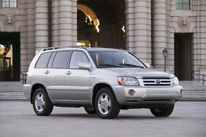 Toyota Highlander 2001 - 2007 Wanted