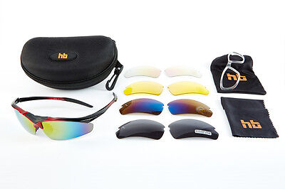 High Balance Triumph Polarized Performance Sports Sunglasses-5 lense
