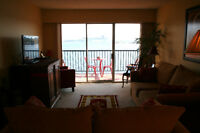 $700 /1br - Waterfront fully furnished two bedroom apartment