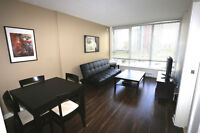 $2100 / 1br - Furnished luxury one bedroom condo (YALETOWN)