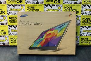 Tablette Samsung Galaxy TAB S dans sa boite originale!!
