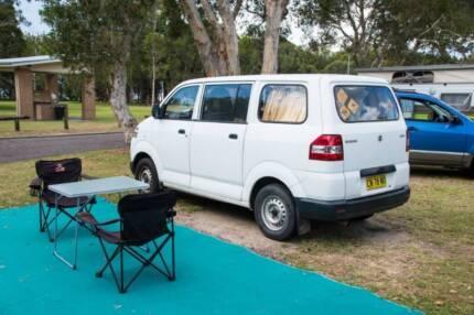Campervan, 2006 Suzuki APV, to sell from 28 Feb, 9 months rego