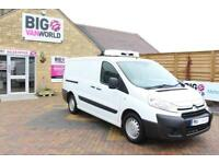 2012 CITROEN DISPATCH 1200 HDI 90 L2 H1 FRIDGE/FREEZER LWB LOW ROOF INSULATED/RE