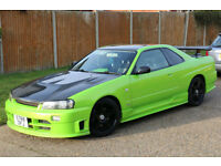 Nissan Skyline 2.5 GTT R34 Triptronic Showcar Ultimate head turner