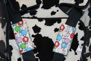 Truro: Baby car seat belt covers/Stroller strap covers