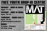 The MAT - Free youth drop-in centre @ The Boys and Girls Club