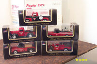 Diecast trucks - Canadian Tire, Sears, Home Hardware, Police car