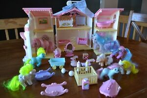 vintage nursery pouliches my little pony g1