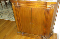.end tables, coffee table, poker table,sofa, lamps,commode