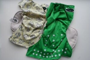 2 Imagine Pocket Diapers (large/toddler) with inserts