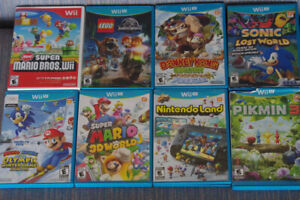 Used Wii U and Wii games