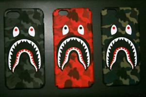 Bape Cases come in 3 colour for Iphones only
