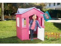 "Little Tikes Cape Cottage Children Indoor/Outdoor Playhouse Pink ""Brand New"""