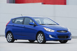 Hyundai Accent GT 2013 Lease Transfer