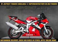 2002 51 YAMAHA R6 600CC 0% DEPOSIT FINANCE AVAILABLE