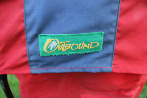 Outbound baby backpack carrier - Red and Blue Kitchener / Waterloo Kitchener Area image 2
