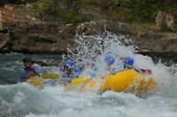 RiverBase Manager for Chinook Rafting (May - Sept 2017)