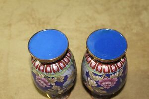 Chinese Cloisonne Vases Pair Kingston Kingston Area image 8