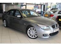 2009 58 BMW 5 SERIES 3.0 525D M SPORT 4D AUTO 195 BHP DIESEL