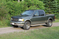 2002 Ford F-150 SuperCrew King Ranch certified
