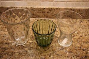 vases divers neufs de 5 a 25$