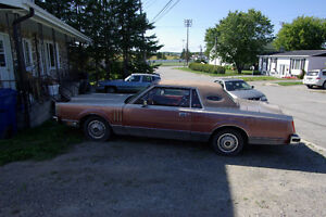Lincoln continental 1980 a vendre