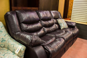 Leather Couch - ReStoreYYC