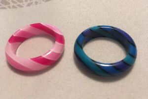 2 Striped Rings