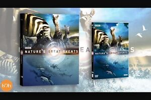 Nature's great events BBC Blu-ray disc 2 disc set Kingston Kingston Area image 4