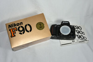 Nikon F-90 35mm Film camera with owners manual