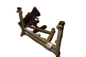 Sturdy benchpress for sale-barbell, weights, and mat included!