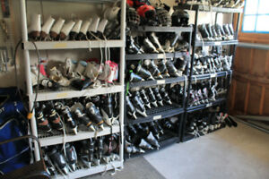 Lots of skates, kids, youth, adult sizes.  Boys & Girls styles