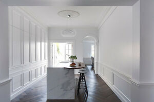 Crown Moulding Coffered Ceiling Wainscoting Baseboard Oakville / Halton Region Toronto (GTA) image 10