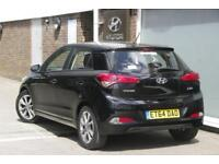 2015 Hyundai i20 1.4 SE (100 PS) Petrol black Automatic