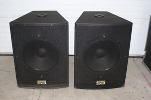 "18""  subs  passive sub  Soundbridge"