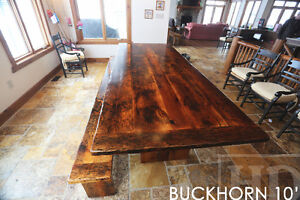 Barnwood Tables - Locally Made from Reclaimed Hemlock & Pine