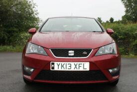 2013 SEAT IBIZA 1.6 TDI FR CR 105 BHP 5 DOOR MANUAL
